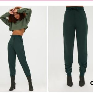 Pretty Little Thing Emerald Green Joggers